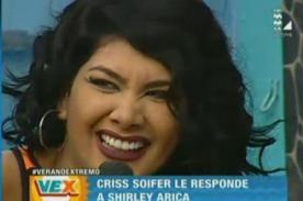 Verano Extremo: Shirley Arica insulta a Chris Soifer pero esta la sepulta en 2 palabras!
