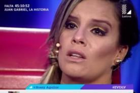 Guty Carrera se volvió 'loco' e insultó a Alejandra Baigorria - VIDEO