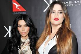 Kim y Khloe Kardashian suben la temperatura con sesión de fotos
