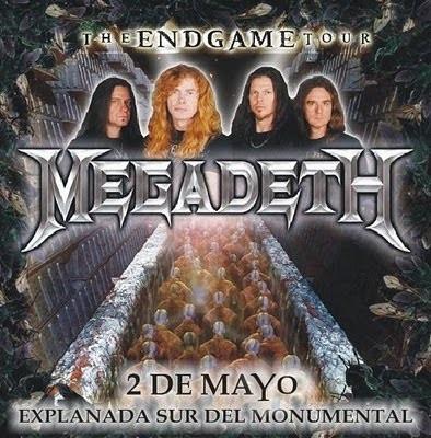 Megadeth promete retumbar esta noche a toda Lima