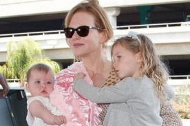 Nicole Kidman prefiere criar a sus hijas a grabar películas