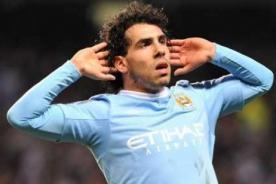 Fútbol inglés: Carlos Tévez volverá a la acción con el Manchester City