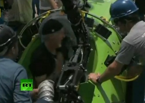 Video: Director de Avatar descendió a lo más profundo del Océano Pacífico