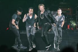 Backstreet boys y New Kids on the Block desataron histeria en Liverpool