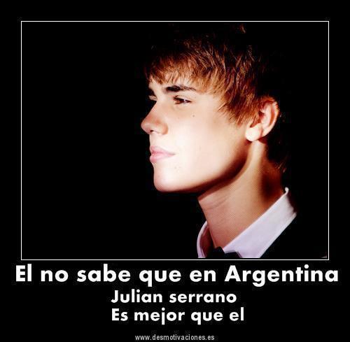 Fotos: Conoce al Justin Bieber argentino