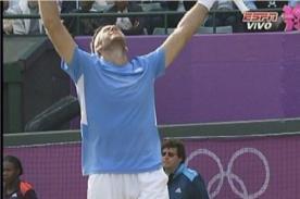 Londres 2012: Del Potro clasifica a la semifinal de las Olimpiadas