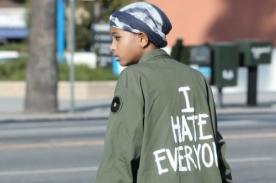 Willow Smith 'odia a todo el mundo' según su chaqueta