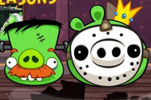 Angry Birds Seasons celebra Halloween con 'Haunted Hogs' (Video)