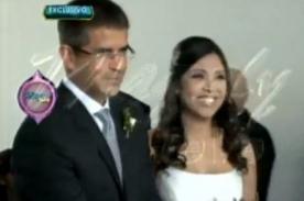 Magaly Teve: Inédito video de la boda de Tula Rodríguez y Javier Carmona