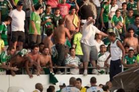 Copa Libertadores 2013: Hinchas del Palmeiras golpearon a sus jugadores