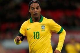 Ronaldinho: Brasil ganará el Mundial 2014 y sueño con participar