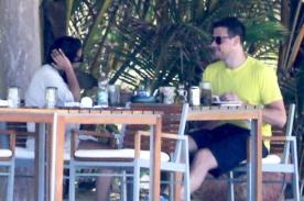 Lea Michele y Cory Monteith de vacaciones en México
