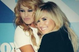 Paulina Rubio presume amistad con Demi Lovato y la llama hermanita