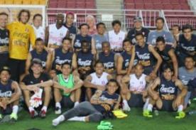 FOTOS: Selección Peruana entrenó horas antes de enfentrar a Corea del Sur