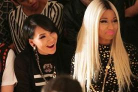 Nicki Minaj y CL de 2NE1 juntas en desfile de moda en Nueva York - Fotos