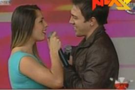 Video: Yidda Eslava y Julián Zucchi cantaron en la Teletón 2013