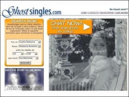 Ghost Singles: Portal web de citas que une a fantasmas solteros