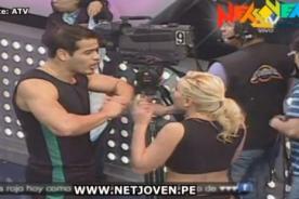 Combate: Yamila Piñero y Ernesto tienen fuerte discusión - Video