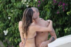The Wanted: Max George es captado dándose un apasionado beso con Nina Agdal