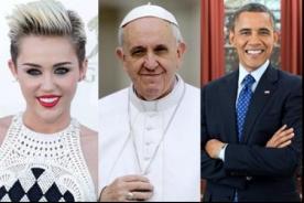 Miley Cyrus, el Papa Francisco y Barack Obama encabezan lista del 'Personaje del Año'