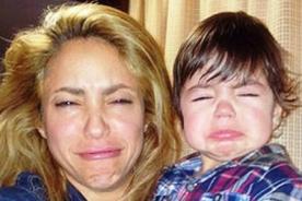 El hijo de Shakira y Piqué celebra su primer 'caga tió'