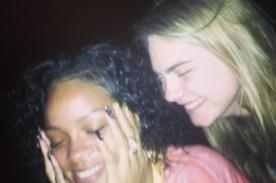 Rihanna y Cara Delevingne se divierten juntas en Barbados