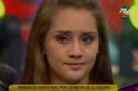 Combate: Ximena Hoyos se frustra por no cumplir prueba - Video