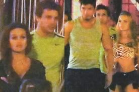 Nicola Porcella, Angie Arizaga, Cachaza y Rafael Cardozo salieron en pareja