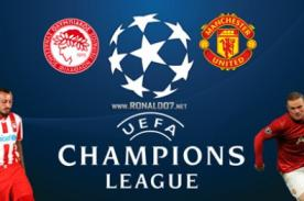 En vivo por Fox Sports : Olympiakos vs Manchester United (Champions League)