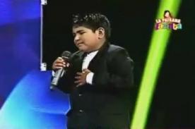 Yo Soy Kids: Imitador de Segundo Rosero no pasó a siguiente etapa - VIDEO