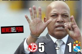 Difunden ocurrentes memes tras goleada de Juan Aurich a Sporting Cristal