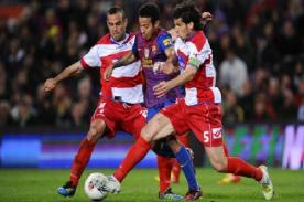 Liga BBVA: Barcelona perdió ante Granada y sigue en mala racha