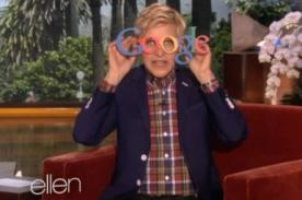 Ellen DeGeneres se burla de la venta de los Google Glass en vivo - Video