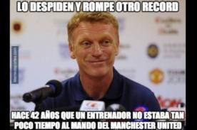 Manchester United: David Moyes y los divertidos memes de su despido - FOTOS