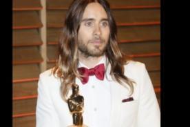 Jared Leto confesó que su Oscar está 'hecho un asco'