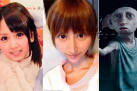 Actriz porno japonesa es comparada con 'Dobby' tras cirugía estética