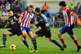 Liga BBVA: Atlético Madrid perdió 2-0 contra Levante - Resultados del partido