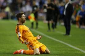 Sergio Ramos: Golazo de tiro libre que le dedicó a Cristiano Ronaldo - VIDEO