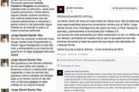 Chef peruano causa polémica por insultar y burlarse de boliviano en Internet