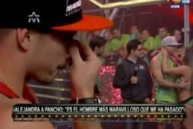 Combate: ¿Mario Hart lloró tras beso de Alejandra y Pancho? - VIDEO