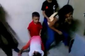 ¿Niños son grabados bailando reggaeton clandestino? - VIDEO