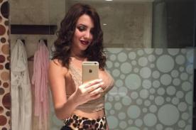 Rosángela Espinoza muestra cuerpazo en sexy foto hot