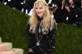 Madonna se destapa en la MET Gala