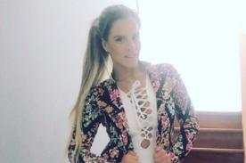 Alejandra Baigorria alarma a fans tras accidente vehícular - FOTO