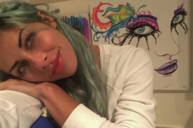 Xoana González pinta un cuadro de Gokú en tres horas y se lo regala a su novio - FOTO