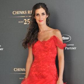 Vanessa Saba deslumbra con magnífico vestido rojo en el Festival de Cannes