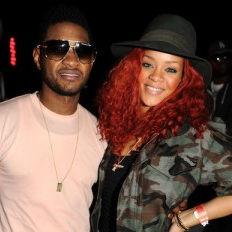 Rihanna y Usher pasaron tiempo juntos durante el Festival Coachella