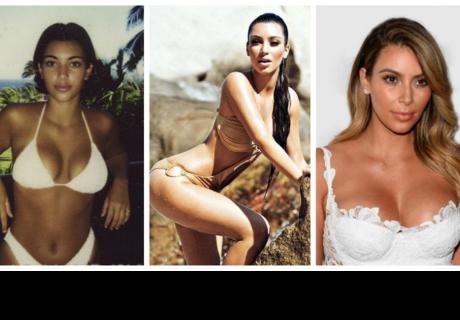 La evolución Kim Kardashian: Antes y después