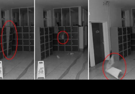 Captan actividad paranormal en escuela de la ciudad de México