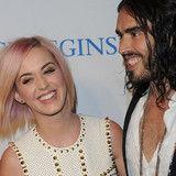 Russell Brand y Katy Perry pasaron Navidad en lugares distintos